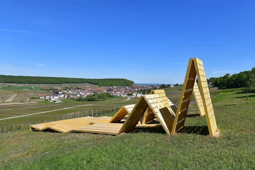 印象│Vign'Art‒香槟区葡萄园中的地景艺术展