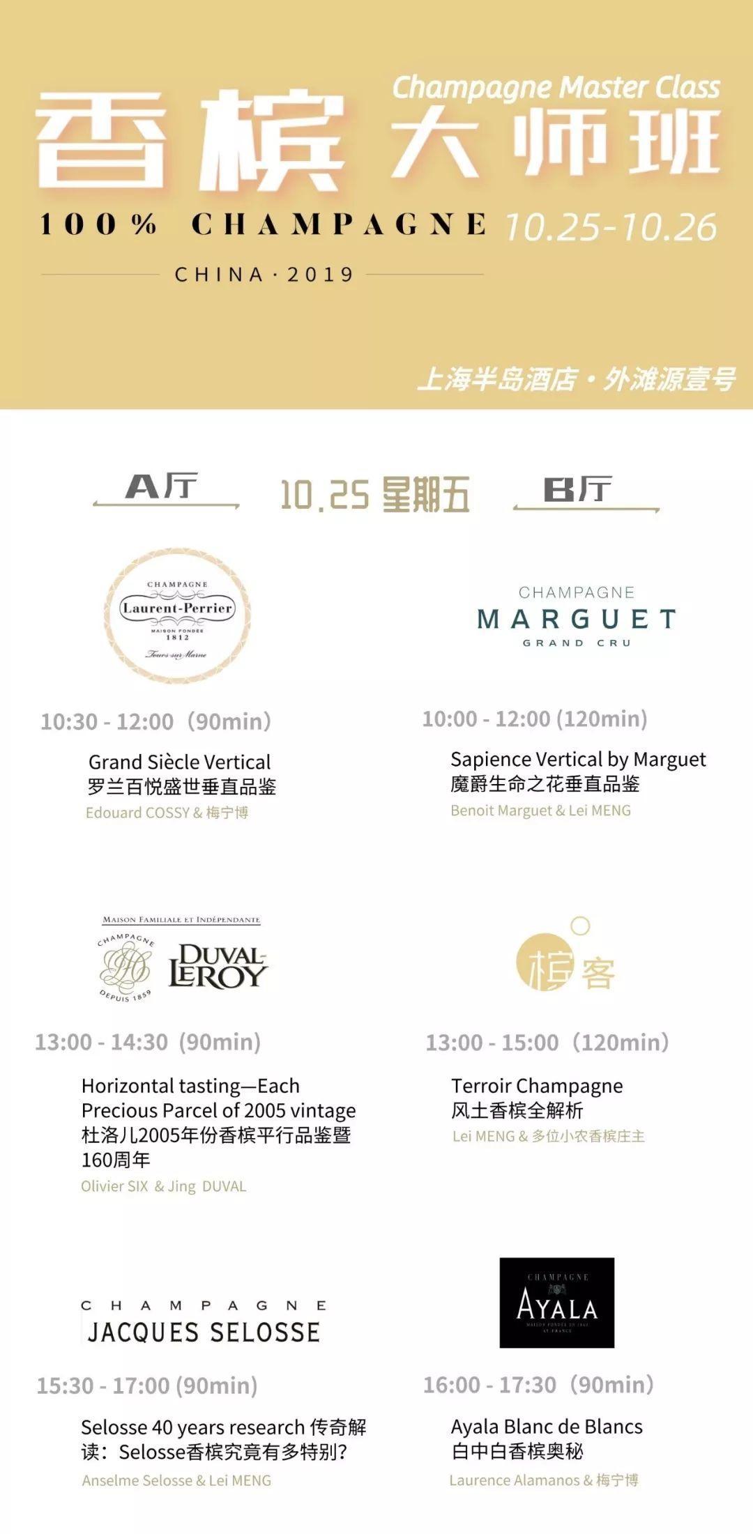 50个香槟品牌! 第二届全香槟酒展倒计时 100% CHAMPAGNE China 2019