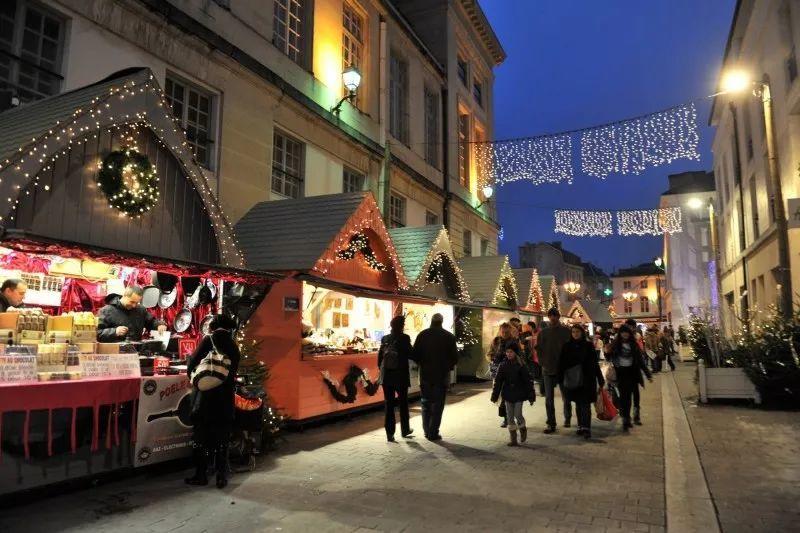 逛不完的圣诞市集│沙隆香槟圣诞狂欢走起!